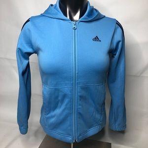 Adidas Girls Zip Up Jacket